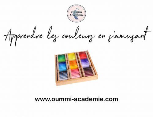 Comment apprendre les couleurs en s'amusant ?
